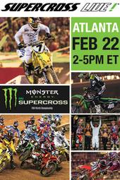 Atlanta 2/22/14 - Supercross LIVE!