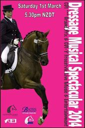 Dressage Musical Spectacular 2014