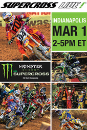 Indianapolis 3/1/14 - Supercross LIVE!