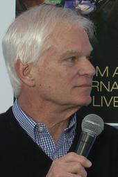 Tennessee Williams expert Dr. Robert Bray at News Café