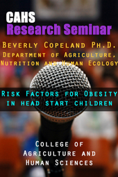CAHS Research Seminar XI