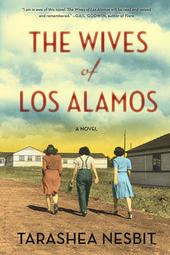 TaraShea Nesbit signs THE WIVES OF LOS ALAMOS