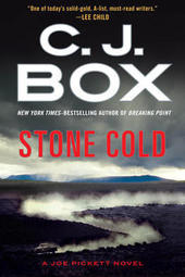 CJ Box signs STONE COLD, a Joe Pickett novel