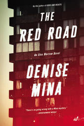 Denise Mina signs THE RED ROAD, an Alex Morrow Novel