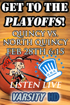 Quincy vs. North Quincy PLAYOFFS!