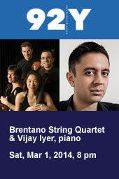 Brentano String Quartet & Vijay Iyer, piano