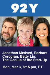Jonathan Medved and Barbara Corcoran: The Genius of the Start-Up