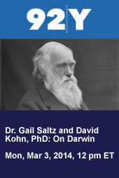 Dr. Gail Saltz and David Kohn, PhD: On Darwin
