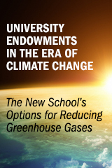 The New School's Options for Reducing Greenhouse Gases