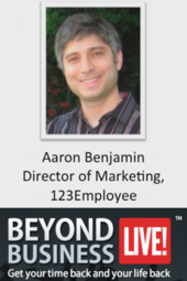 Aarron Benjamin - Keys to LinkedIn on Beyond Business Live!