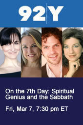 On the 7th Day: Spiritual Genius and the Sabbath