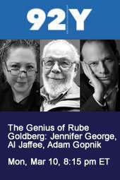 The Genius of Rube Goldberg with Jennifer George, Al Jaffee, Adam Gopnik