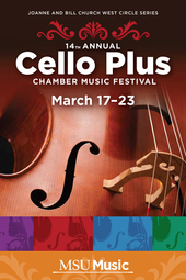 3.19.2014 Cello Plus | A Composer and His Music
