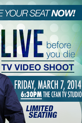 Live Before You Die - LIVE TV Video Shoot