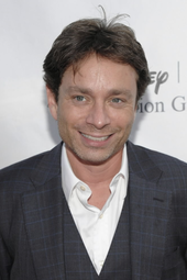 Chris Kattan at the News Café