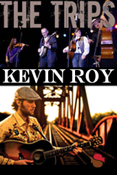 The Trips & Kevin Roy live at Streaming Cafe