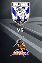 Bulldogs vs Storm