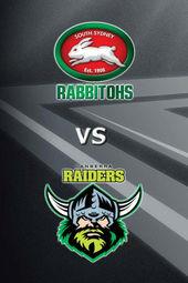 Rabbitohs vs Raiders