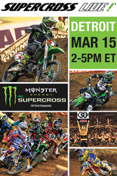 Detroit 3/15/14 - Supercross LIVE!