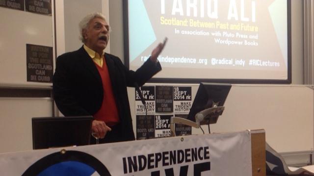 Tariq Ali - Glasgow