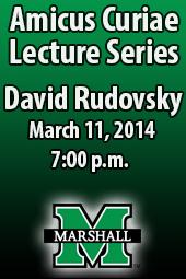 David Rudovsky; Amicus Curiae Lecture Series