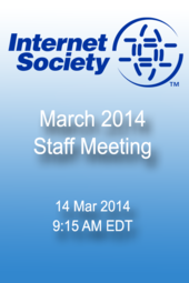 March 2014 Staff Meeting