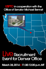 USPTO Live Recruitment Event for Denver Office