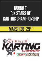 Round 1: CIK Stars of Karting Championship