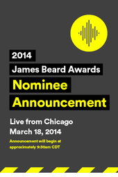 2014 James Beard Awards Nominee Announcement