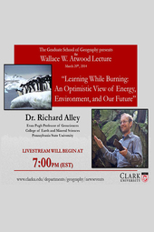 Atwood Lecture:  Richard Alley
