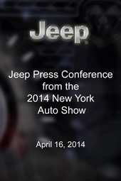 Jeep Press Conference - New York Auto Show