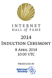 2014 Internet Hall of Fame Induction Ceremony