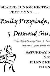 Emily Przysinda and Desmond Siu