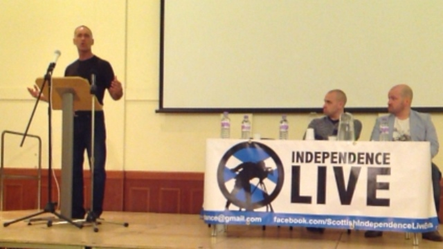 7:30pm Wed 16th, Cumbernauld, Tommy Sheridan
