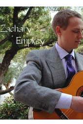 Zachary Empkey, Guitar Recital