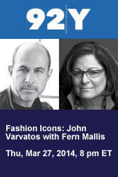 Fashion Icons: John Varvatos with Fern Mallis