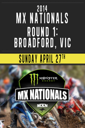 Round 1 - 2014 Monster Energy MX Nationals