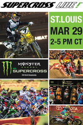 St. Louis 3/29/14 - Supercross LIVE!