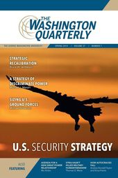 TWQ Spring 2014 Issue Launch: U.S. Security Strategy