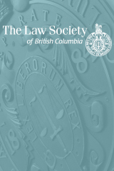 Law Society of BC Benchers' Meeting