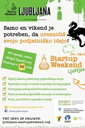 Start-up vikend Slovenija 2014