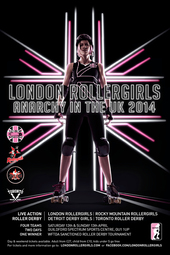 London Rollergirls-Anarchy In The UK 2014