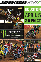Houston 4/5/14 - Supercross LIVE!