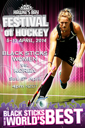 Festival of Hockey: Black Sticks Women vs Korea