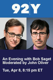 An Evening with Bob Saget Moderated by John Oliver