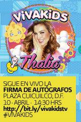 Thalía - Firma de Autógrafos Viva Kids!