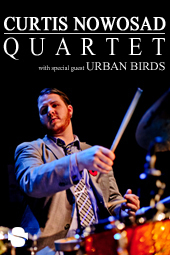 Curtis Nowosad Quartet with Urban Birds live at Streaming Cafe