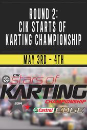 Round 2 : CIK Stars of Karting Championship