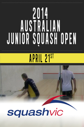 2014  Australian Junior Squash Open