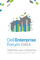 Dell Enterprise Forum - EMEA  #DellEF